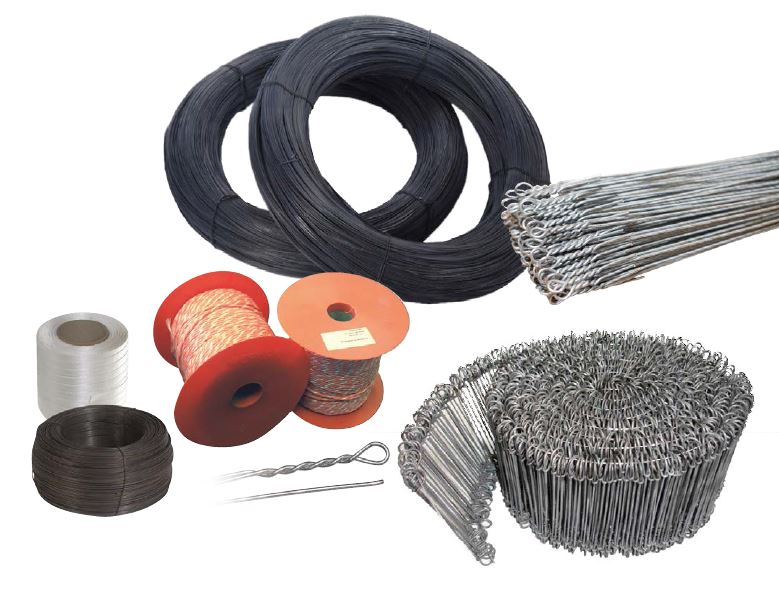 phs wastekit collection of baling accessories include baling twine, wire and strapping
